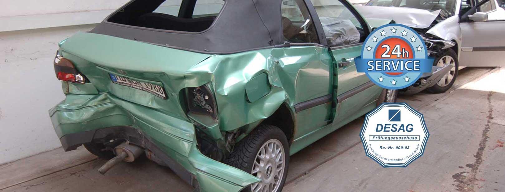 Unfallauto - Unfall! Was tun?